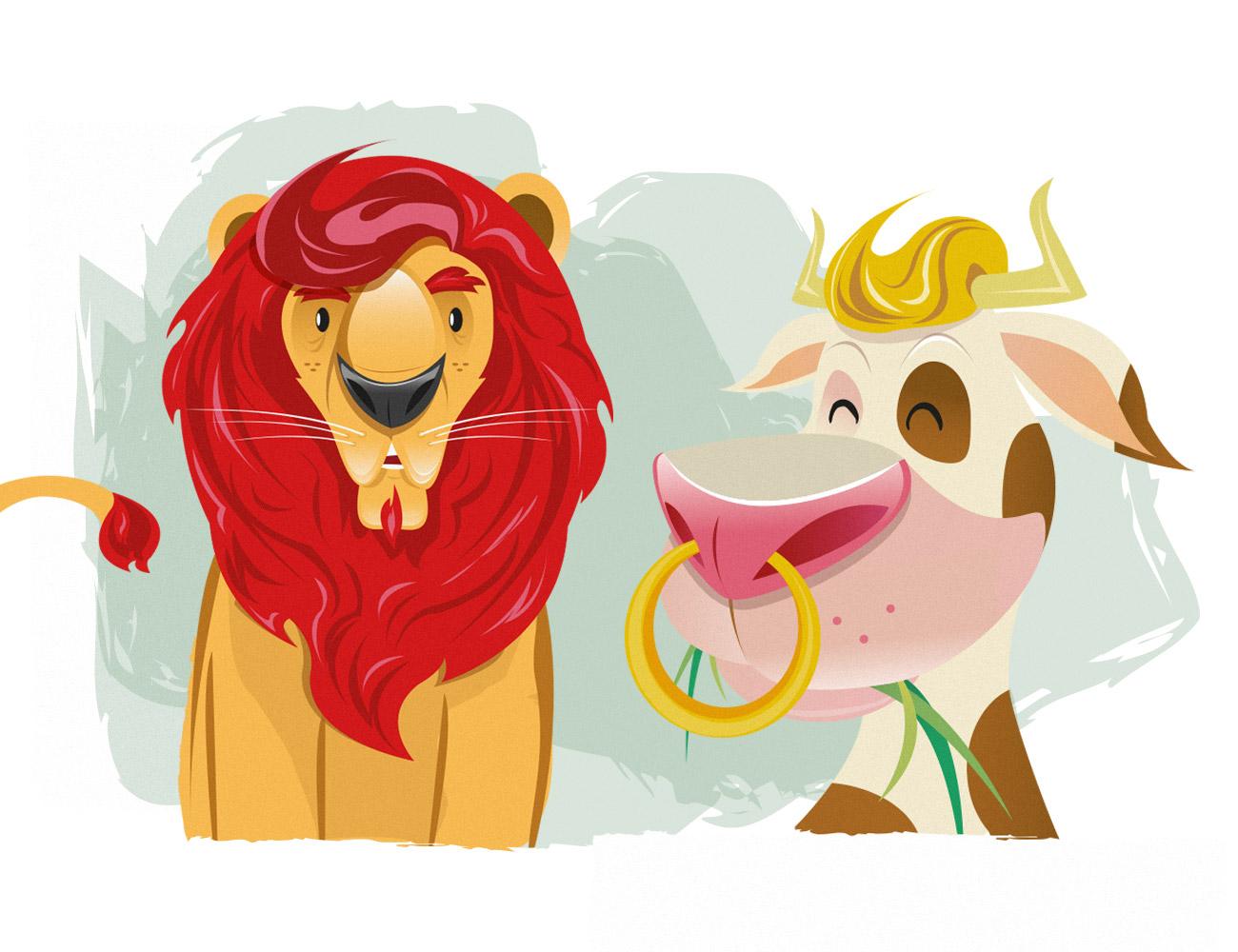 leone-mucca-aic-celiachia-gioco-in-fuga-dal-glutine-simone-roveda-libri-bambini-intolleranze-alimentari