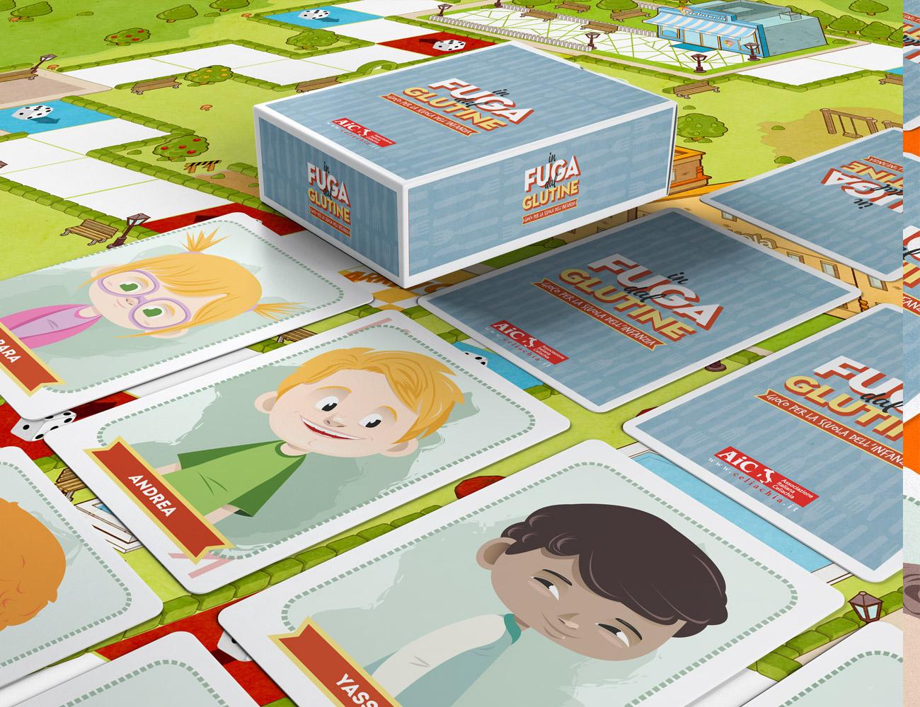 aic-celiachia-gioco-carte-in-fuga-dal-glutine-simone-roveda-libri-bambini-intolleranze-alimentari