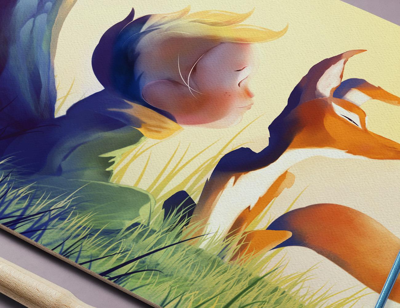 illustrazione-piccolo-principe-salsomaggiore-terme-simone-roveda-digit81-illustrator-graphic-designer